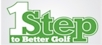 1 Step to Better Golf logo